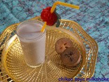 Chikoo soya milkshake/soya recipes/summer coolers
