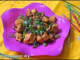 Chilly paneer dry/paneer recipes