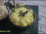 Lemon rice/nimbu chawal/lunch box idea/rice variety