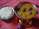 Onion sambhar/kuzhambu recipes