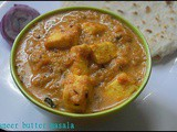 Paneer butter masala/side dish for roti