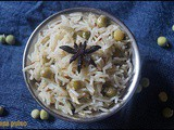 Peas pulao/lunch box idea/rice varieties