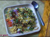 Sev puri/chaat varieties