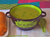 Spring onion soup/soup varieties