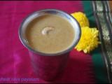 Wheat rava payasam