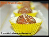 Carrot Almond Laddu–Diwali Sweets