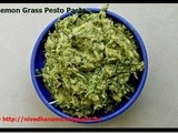 Lemon Grass Basil Pine Pesto Pasta