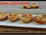 Palmiers - Little Hearts Biscuits