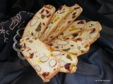 Almond Mixed Fruit Biscotti