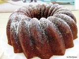#BundtaMonth :  December ~ Mixed Fruit Chocolate Beer Cake