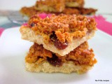 Cornflake raisin slice