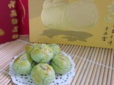 Green Pea Cookies ~ cny 2012