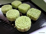 Green tea ping pei (snow skin) mooncake ~ 2012