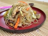 Korean JapChae (Sweet Potato Noodles)
