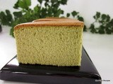 Matcha ~ Green tea Castella