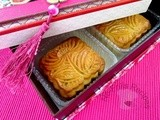 Mixed Nuts and Meat Floss Mooncakes