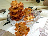 Orange Sesame Almond Crisps cny 2015 ~ 杏仁片脆饼
