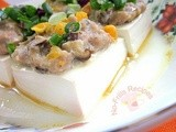 Salted Egg steamed Tofu