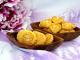 Salted egg yolk cookies ~ 咸蛋黄酥饼 ~ cny 2016