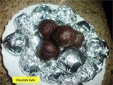 Dark Chocolate Balls