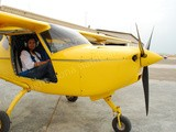 Jazirah Aviation Club - my first microlight flight in uae