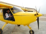 Jazirah Aviation Club – my first microlight flight in uae