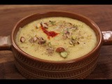 Seetaphal ki kheer(Custard apple pudding)