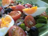 Salade Niçoise, the way i like it