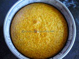 Eggless Orange n Yogurt Cake