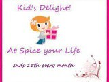 Announcing Kid's Delight Event- No Cook Dishes