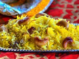 Basanti Meethe Chawal/Kesariya Rice/How to make Saffron Rice