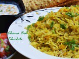 Chana Dal Khichdi/ How to make chana dal pulao