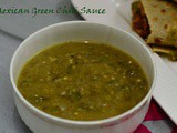 Mexican Style Hot Green Chili Sauce