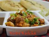 Spicy & Tangy Nutri Kulcha Recipe / How to make nutri gravy