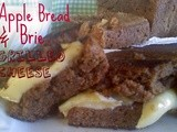 ~Apple Bread & Brie Grilled Cheese