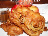 ~Apple stuffed Funnel Cake