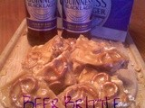 ~Black Lager Brittle..with Pretzels & Peanuts