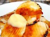 ~Creme Brulee Potato Chips .. with custard dip