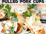 ~Crispy Pulled Pork Cups… featuring litehouse