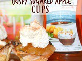 ~Crispy Sugared Apple Pie Cups