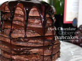 ~Dark Chocolate Cabernet Pancakes