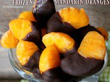 ~Frozen Chocolate Mandarin Oranges