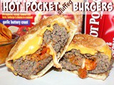 ~Hot Pockets Stuffed Burgers