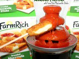~Marinara fountain.. with Farm Rich Mozzarella Sticks