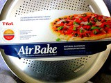 ~t-fal Celebrates 'National pizza Month' with the amazing AirBake Natural Aluminum Pizza Pan