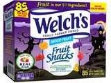 ~Welch's – Halloween Fruit Snacks