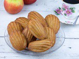 Apple and cinnamon madeleines