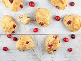 Cranberry and grapefruit scones