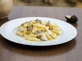 Creamy chicken pasta with truffle