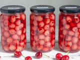 How to preserve cherries